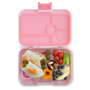 Yumbox Tapas Leak Free Lunchbox 4 Compartments Amalfi Pink